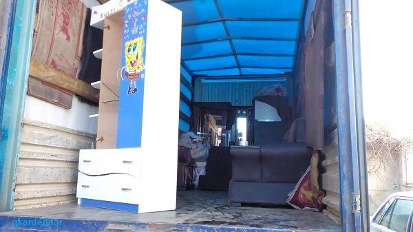 اتوبار تهران اردبیل -باربری شهرستان حمل اثاثیه باربری شهرستان حمل کالاواثاثیه
