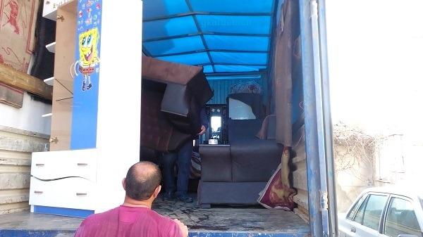 کارگر باربری خدمات اثاث کشی در اردبیل