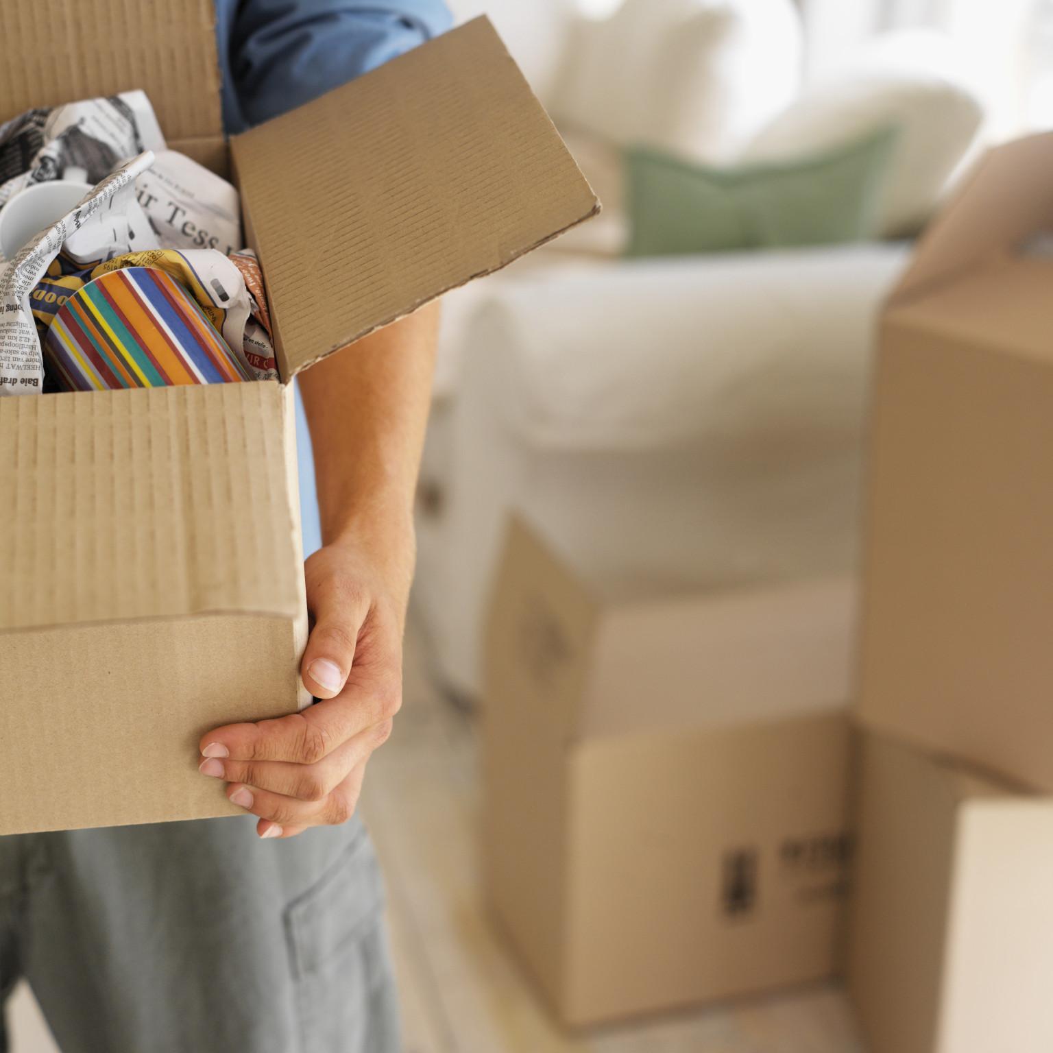 بسته بندی اسباب و اثاث منزل