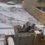 اسباب کشی در یک روز برفی | اثاث کشی در زمستان