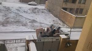 اثاث کشی در زمستان
