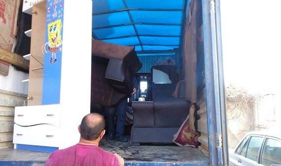 کارگر باربری خدمات اثاث کشی در اردبیل حمل بارواثاثیه منزل درشهرستان | کارگرحمل اثاثیه