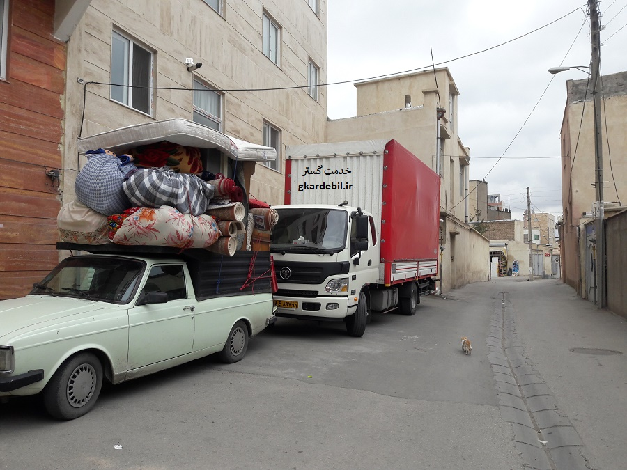 عکس اسباب کشی | تصاویرحمل اثاثیه خاور اسباب کشی ماشین باربری بسته بندی