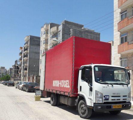 تصویر از نرخ کرایه کامیون بین شهری – تعرفه سال ۹۸ کلیه شهرهای ایران