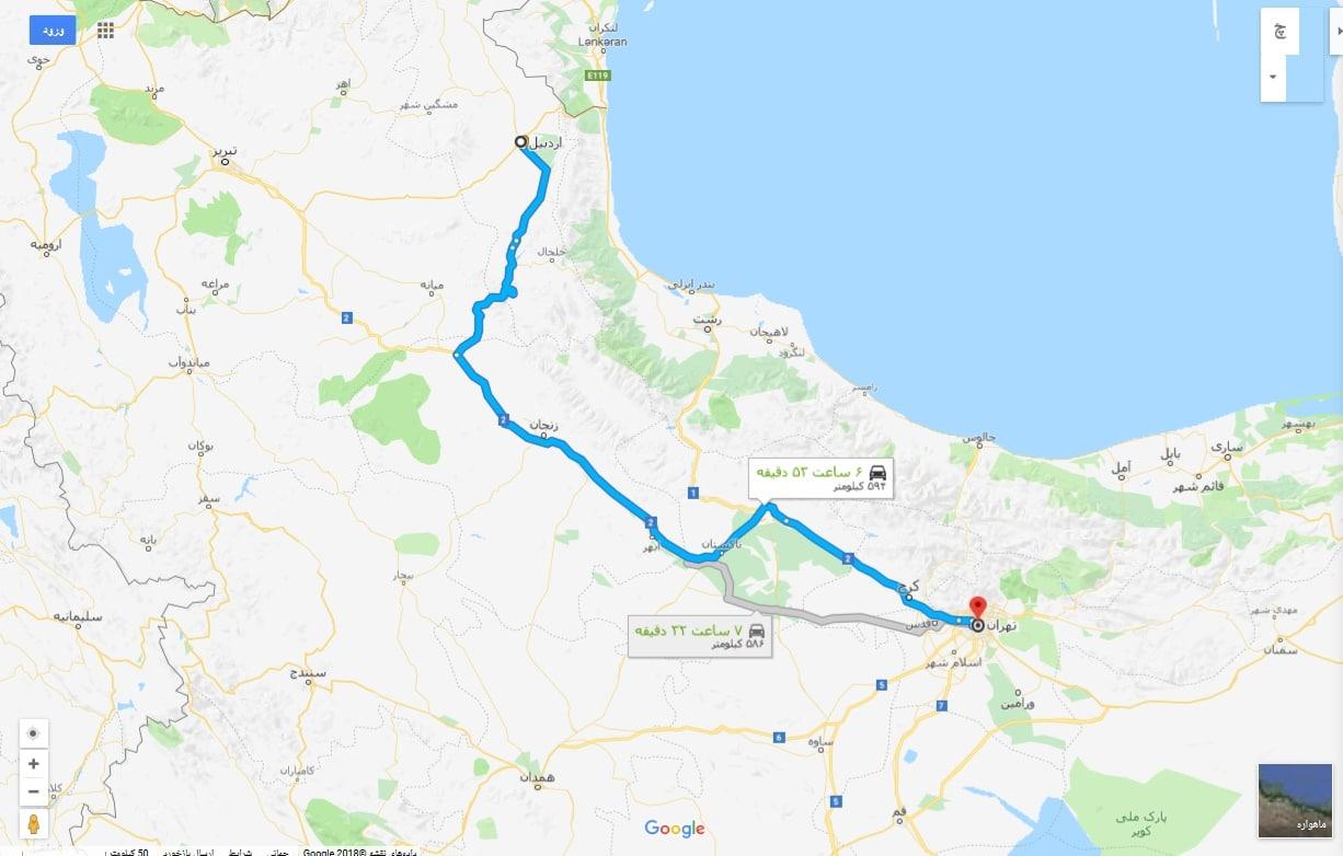 کرایه بر حسب کیلومتر برای کامیونت مسقف