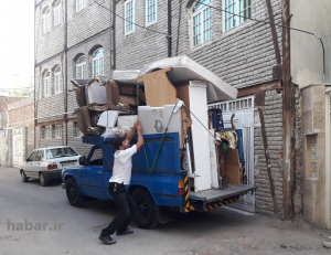 باربری نیسان تهران به اردبیل